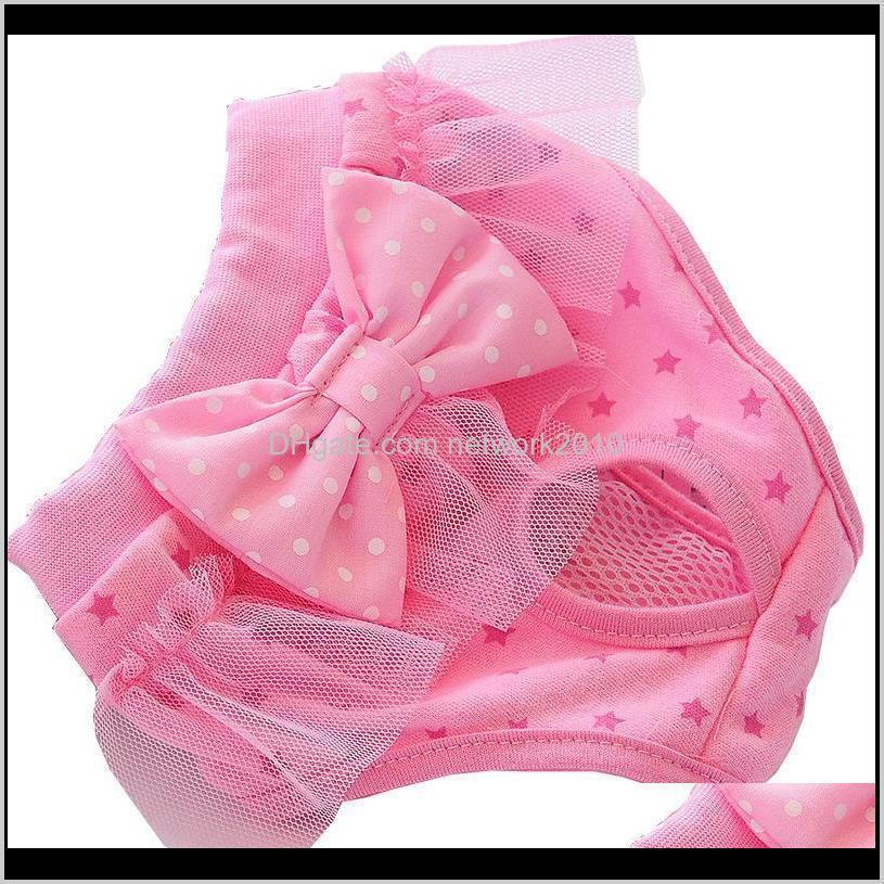 Puppy Physiological Pants Female Dog Shorts Pet Underwear for Small Meidium Girl Dogs