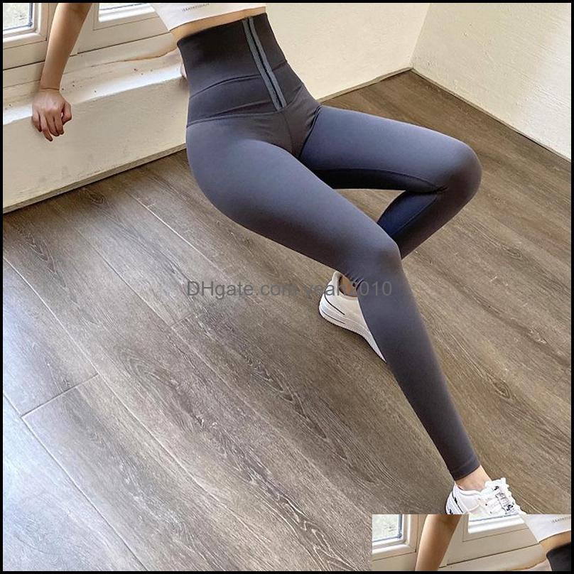 Fitness Shaping Outdoors Sportsuit High Waist Stretch Gym Yoga Set Running Training Full Leggings For Women