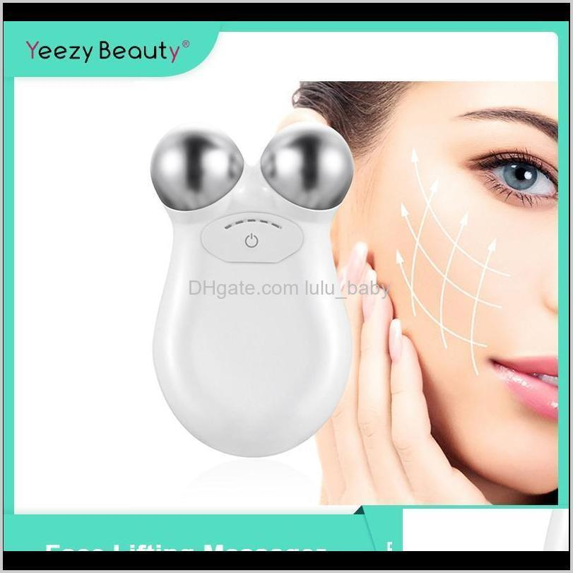 face lifting machine skin tightening toning set microcurrent massager facial beauty antiaging remove wrinkle face device massage