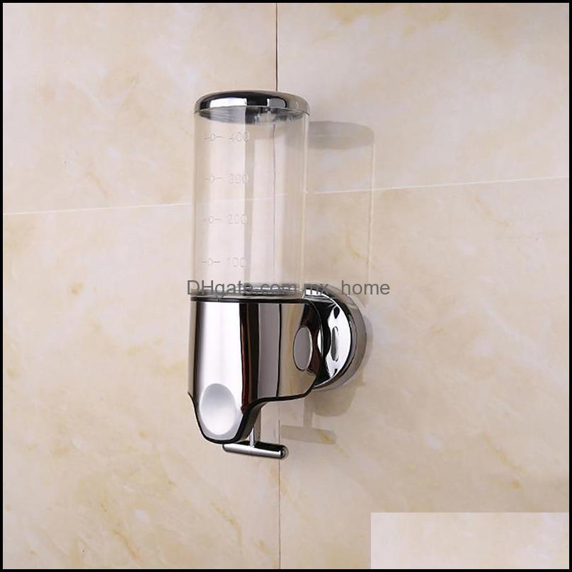 Liquid Soap Dispenser Wall Mounted Shampoo Shower Gel Dispensers Hand Sanitizer Soap Dispenser For Kitchen Bathroom