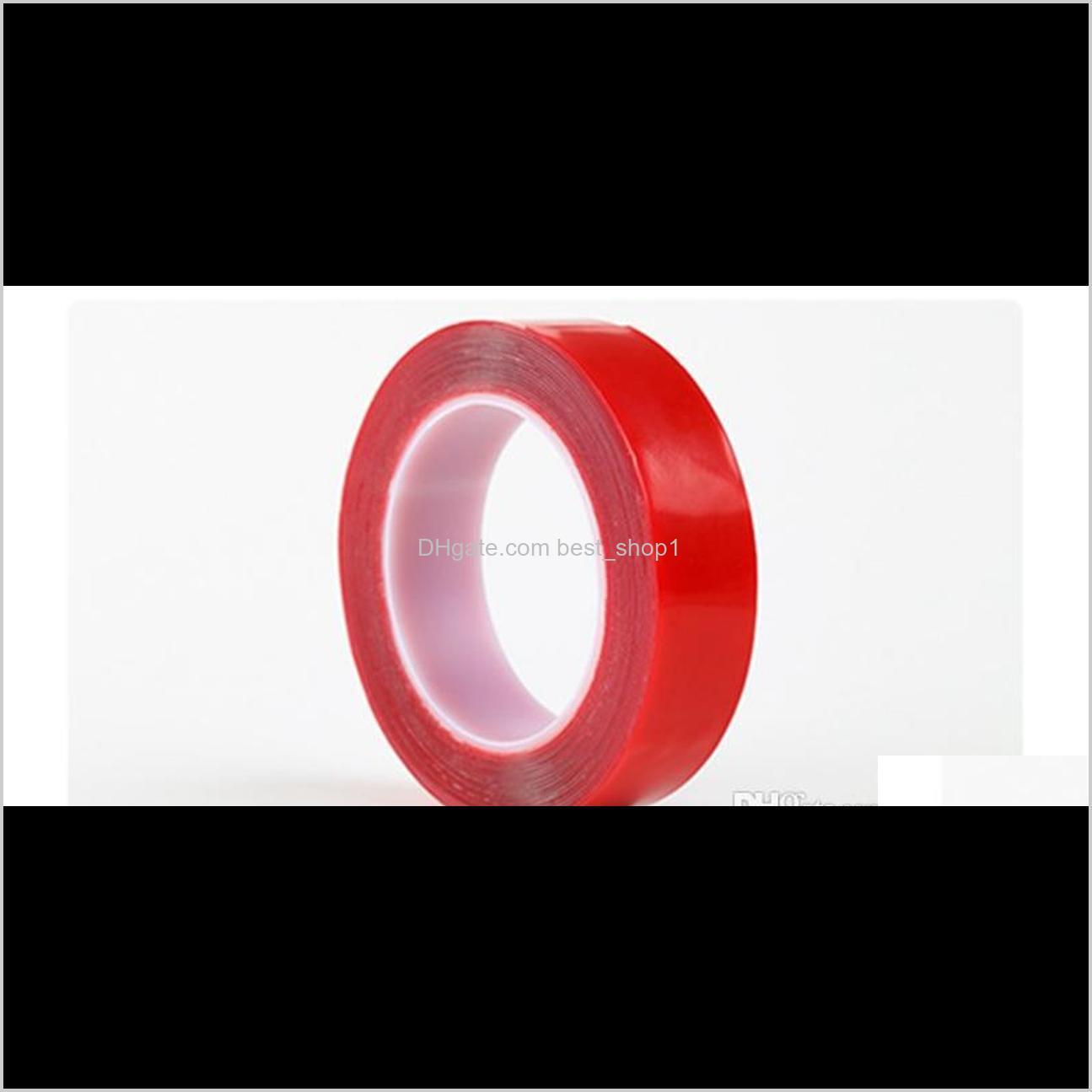 300 cm transparent double side tape clear acrylic tape seamless tape heat resistant strong adhesive removable waterproof 12mm 15mm