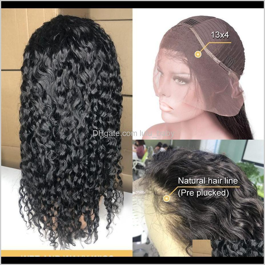 water wave wig short curly lace front human hair wigs for black women bob long deep frontal brazilian wig wet and wavy full