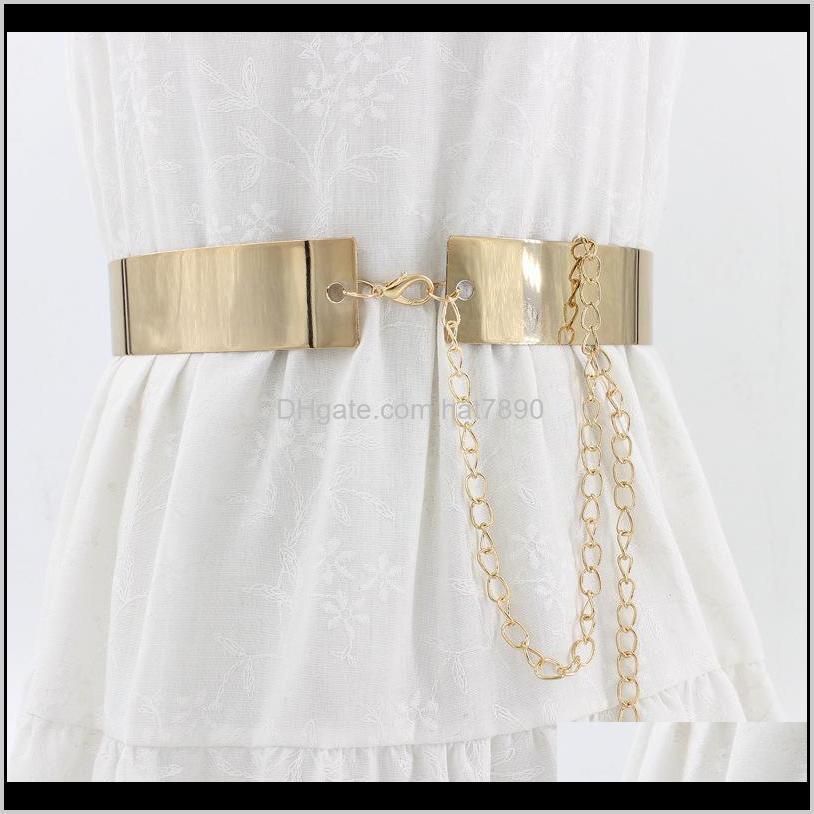 Belt Fashion Hollow Out Metal Waist Cummerbund Dress Belt Iron Belts for Women Clothes Accessories Women Belts Gifts for