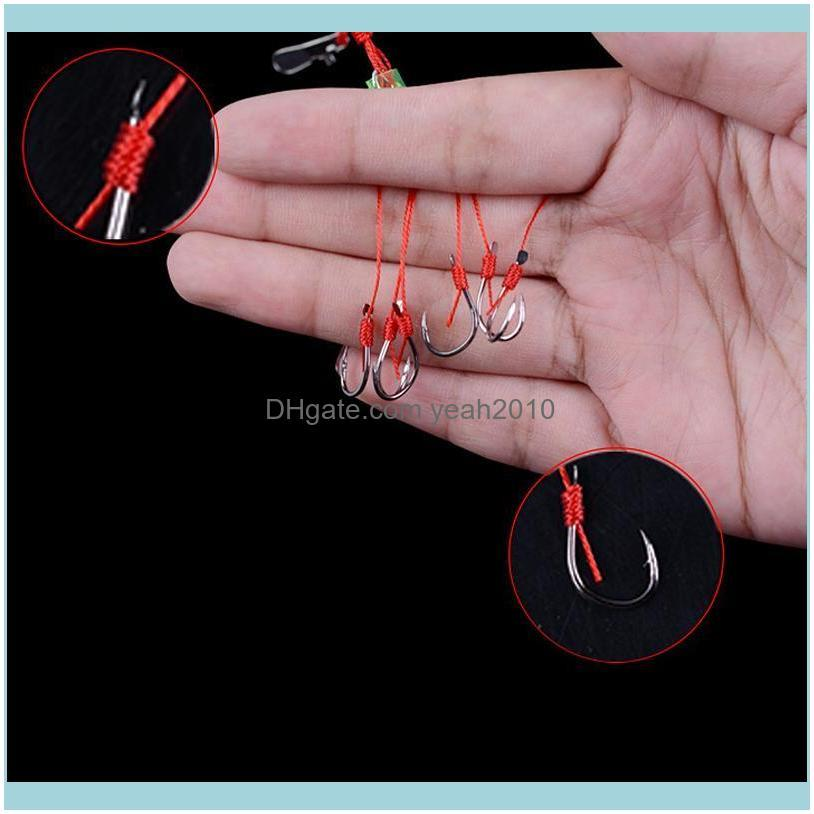Fishing Hook Explosion Barbed Fishook Tackle Accessory Tool Easy To Use Hooks