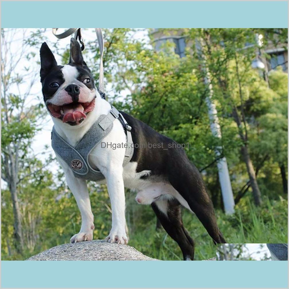 MySudui Reflective Small Dog Harness And