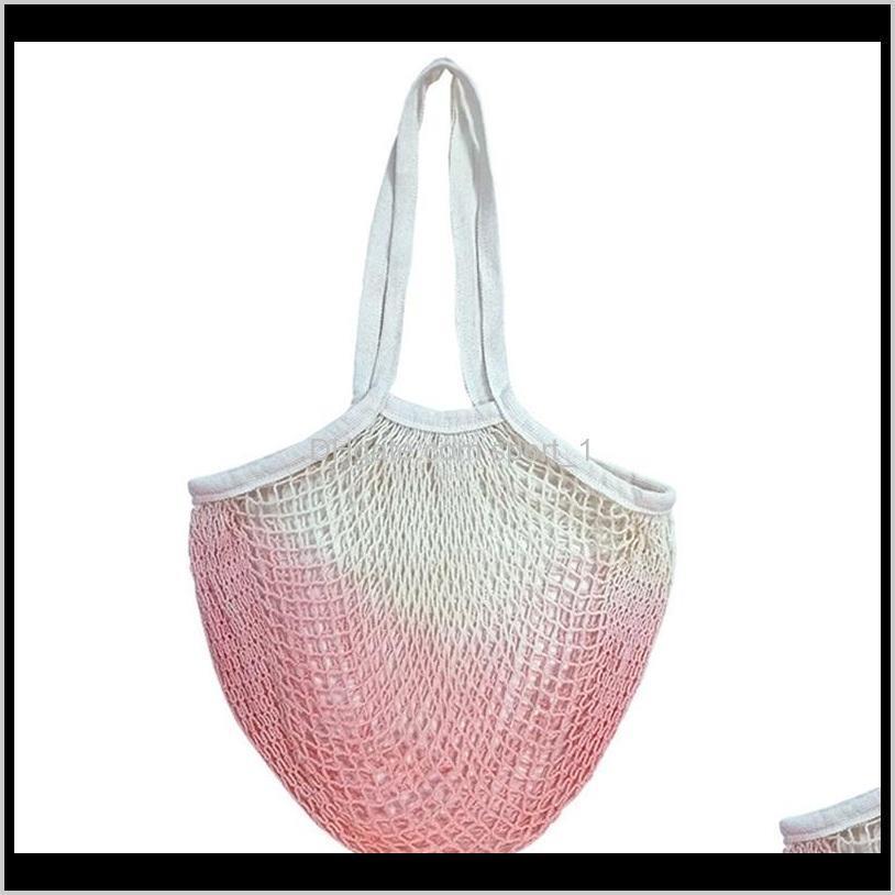 mesh string lift bag shopping bags tote vegetable fruit storage handbag foldable handbag grocery tote knitting bag