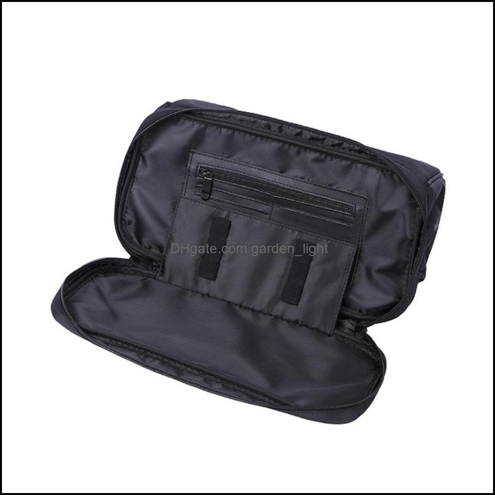 Large Storage Bag for Salon Barber Hairdressing Styling Equipment Tools Travel Luggage Pouch for Hair Dryer Combs Brushes1