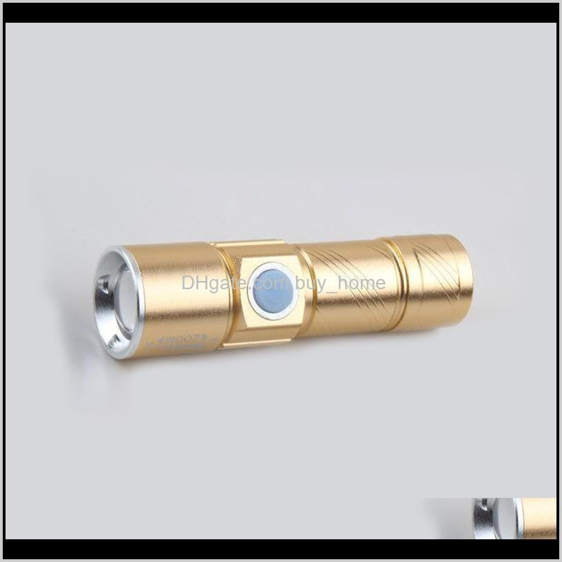 z20 portable usb powerful led mini flashlight rechargeable torch usb flash light bike pocket led zoomable lamp built-in battery