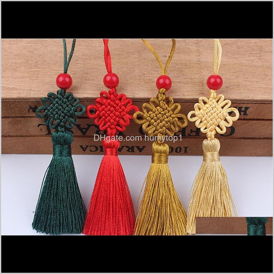 bookmark tassel small chinese knot no. 7 six chinese knot tassel usb flash drive small chinese knot ferule pendant