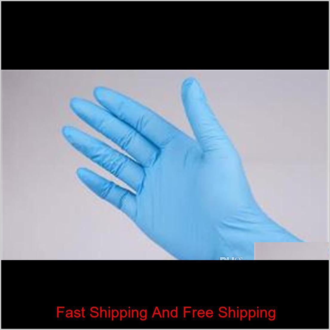 2020 New Disposable Nitrile latex gloves 3 kinds of specifications optional Anti-skid anti-acid gloves B grade rubber glove Cleaning