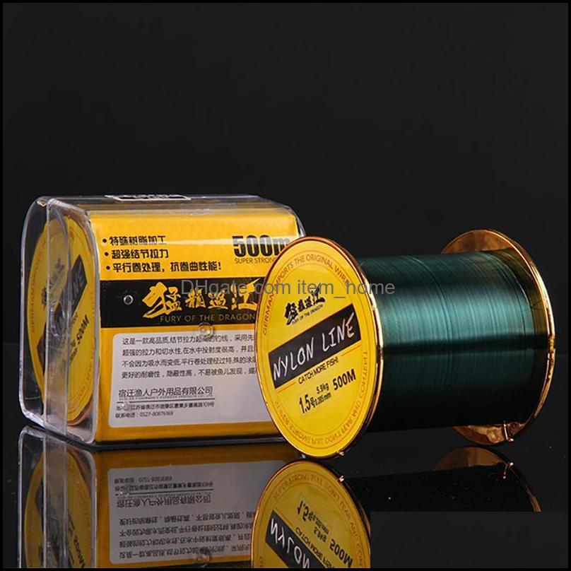 Braid Line 500 Meters Authentic Fishing The Main Is Strong Pull Threw Rod Road And Nylon HaiGan Sea Pole Pitch