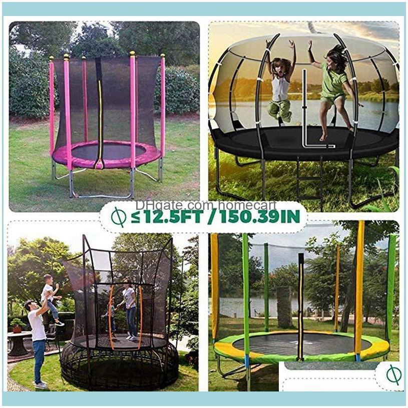 Trampoline Water Park Sprinkler Hose Garden Lawn Sprinkler-Outdoor Water Game Toys-(15M)