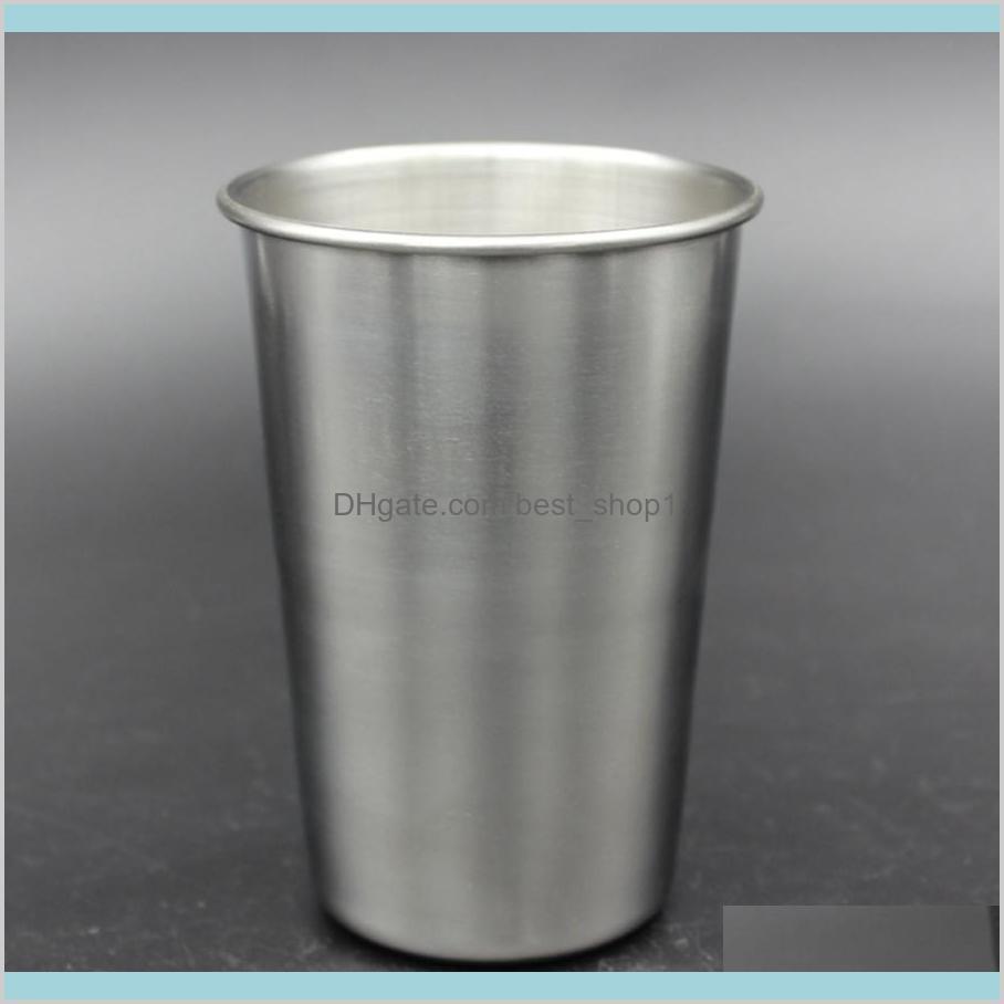 16oz Stainless Steel Pint Cup Metal