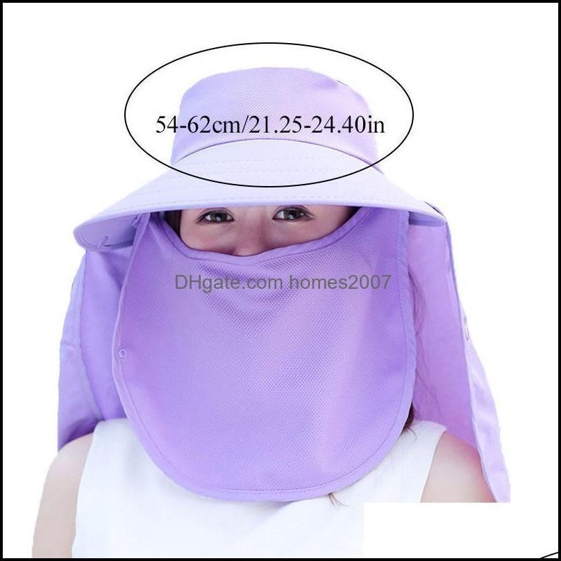 Fashion Women`s Foldable Sun Hat With Wide Brim Beach Omnibearing UV Protection Female Caps Hats