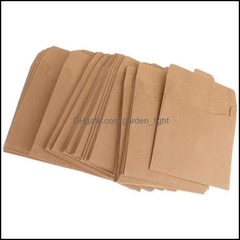 Gift Wrap Craft Paper Plain Card Leaf Holder Storage Case Bag Envelopes 100 Sheets Fine Kraft Holiday Gift1