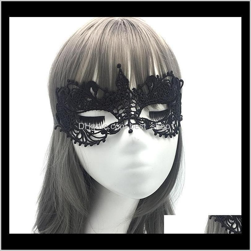 luxury venetian style black sexy lace masquerade party masks womens lace mask fancy dress masks halloween party evening lace eye mask