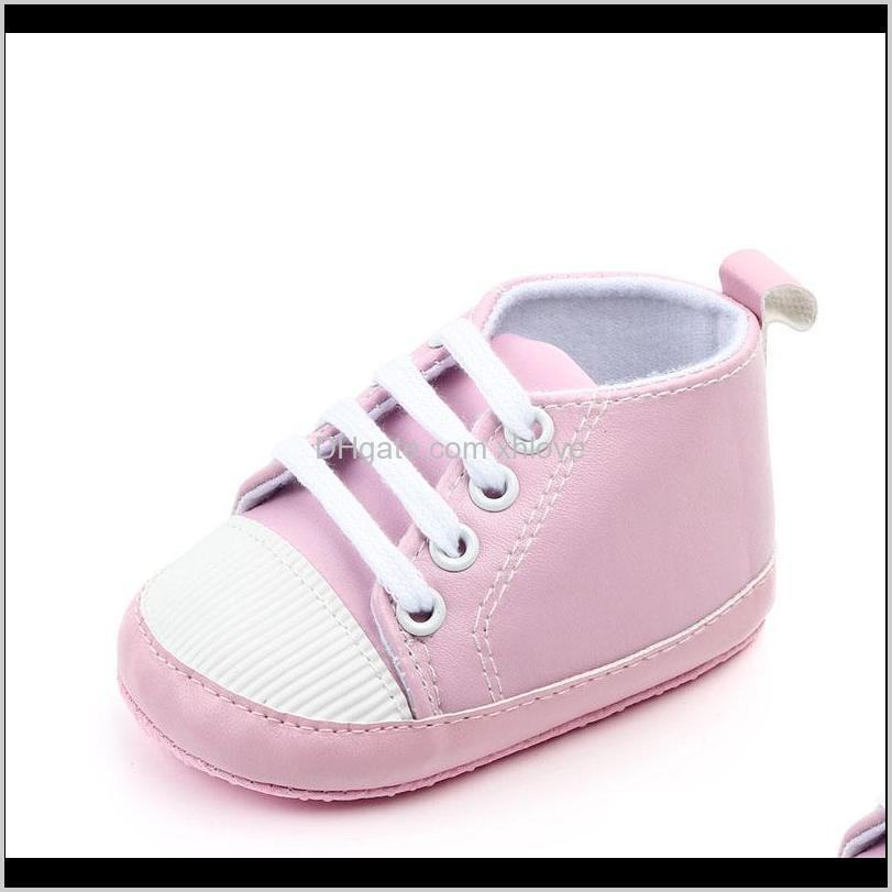 newborn shoes infant baby girls boys anti-slip prewalker casual flats canvas sneakers shoes fashion causal first walkers1