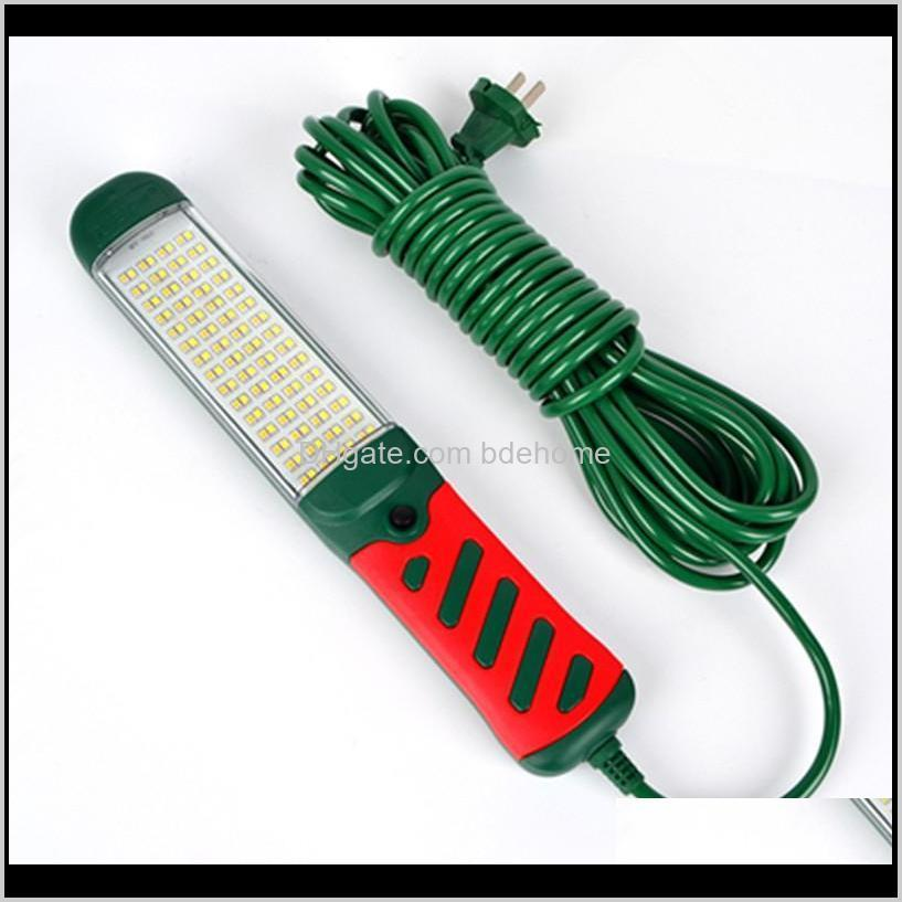 strong magnetic hook led inspection light auto repair light work lamp super bright tool lamp drop resistant