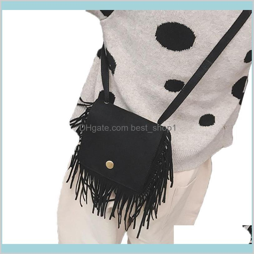 (4000604689432) fashion tassel mini messenger bag
