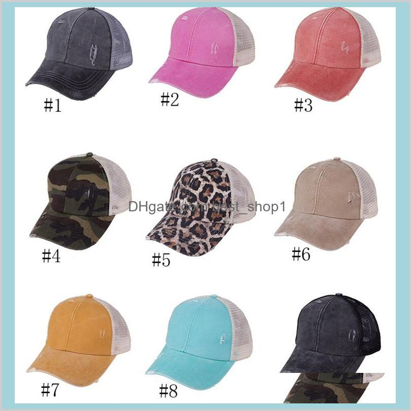 ponytail messy buns hats girls baseball