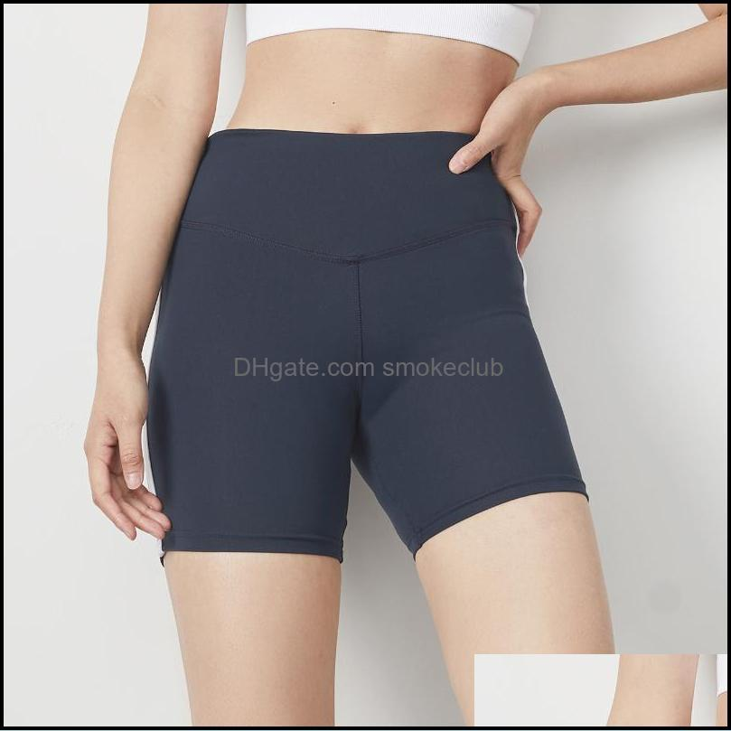 Yoga Outfits 2021 Tight Sports SHORTS Women`s Fitness High Waist And Hip Lifting Running Compression WomenSports Wear1