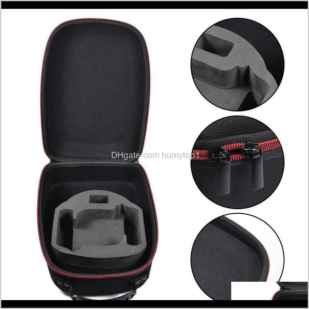 double zippers portable all in one protective accessory travel storage case eva vr gaming headset carrying for oculus quest