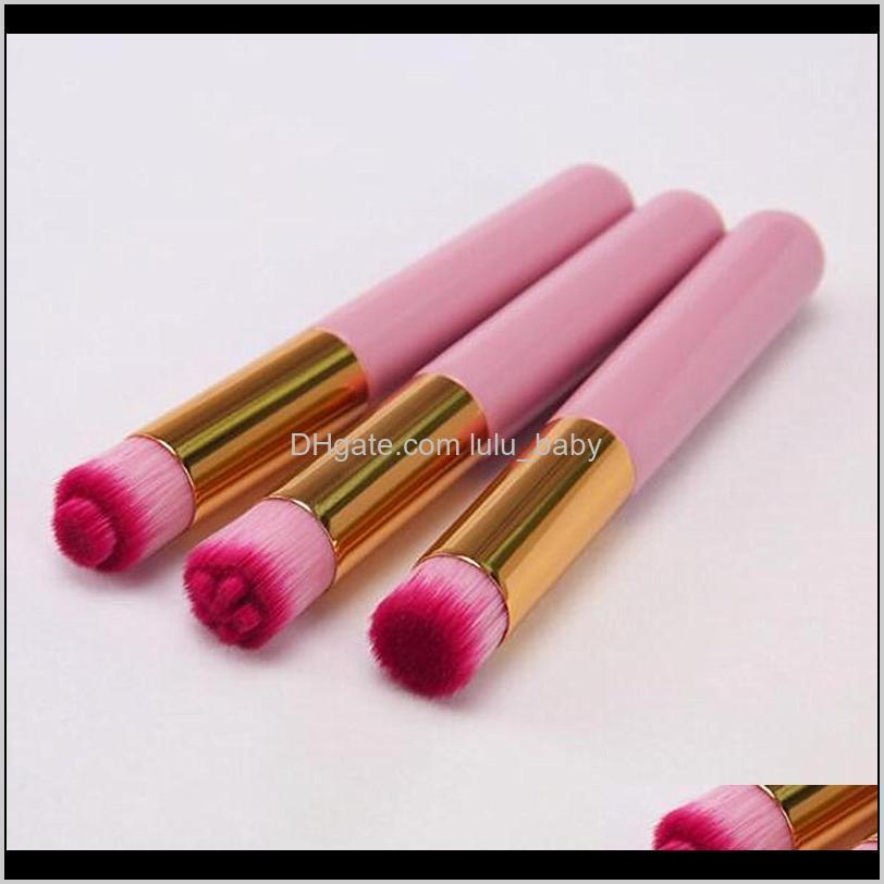 professional blackhead cleaning brush eye lash shampoo brush eyebrow nose beauty makeup tools cleanser pink white 3 types head