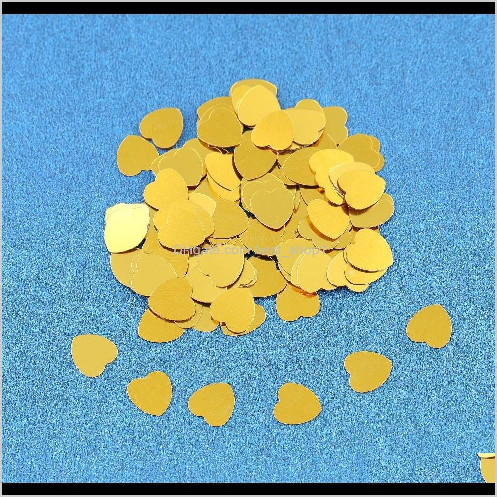 150g gold just married love heart confetti wedding party foil table scatters engagement married anniversary sprinkle decorations
