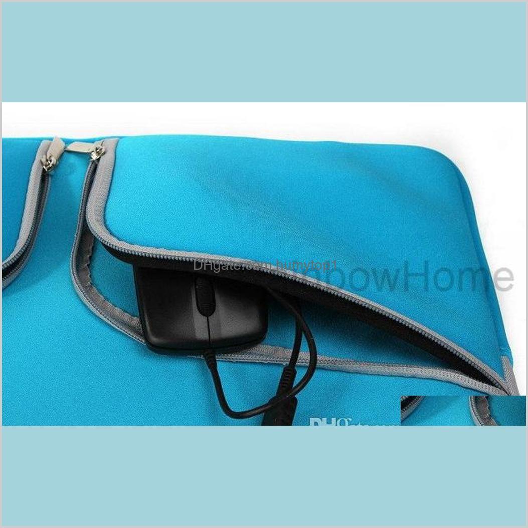 slim laptop protective case zipper bag