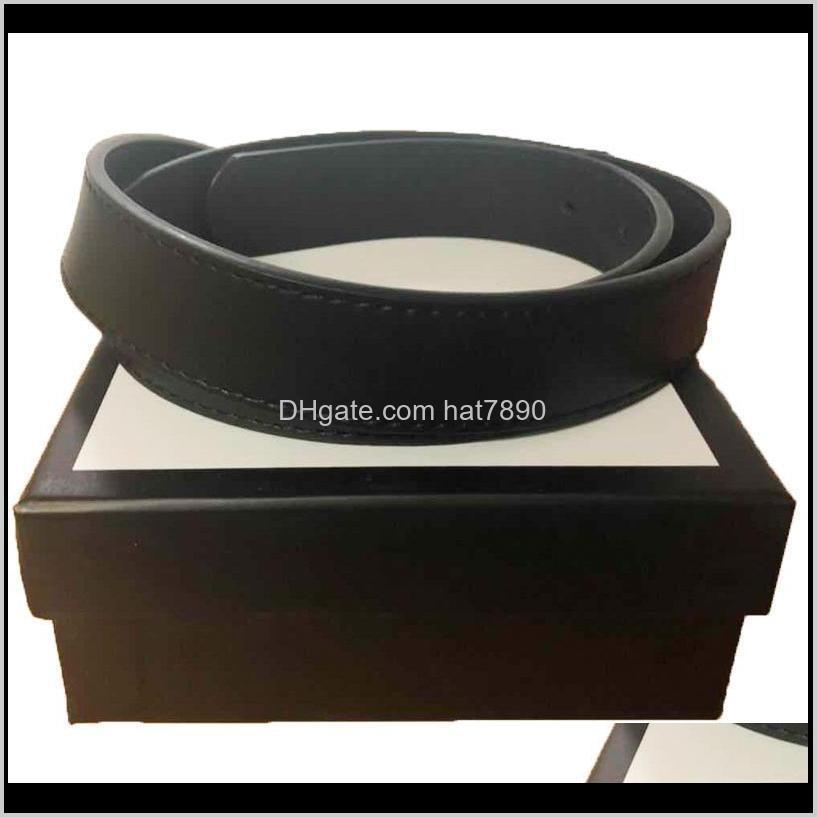 New Women Belts High Quality Double Classic Brass Buckle Real Genuine Leather Men Women Belts Gifts2.0 3.0 3.4 3.8cm with Box