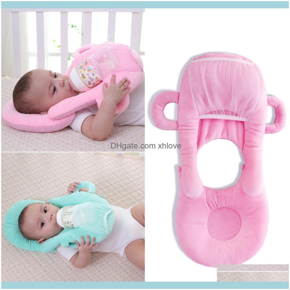 Baby Infant Nursing U-shaped Pillow Newborn Baby Feeding Support Pillow Cushion Prevent Flat Head Pads Anti-spitting Milk
