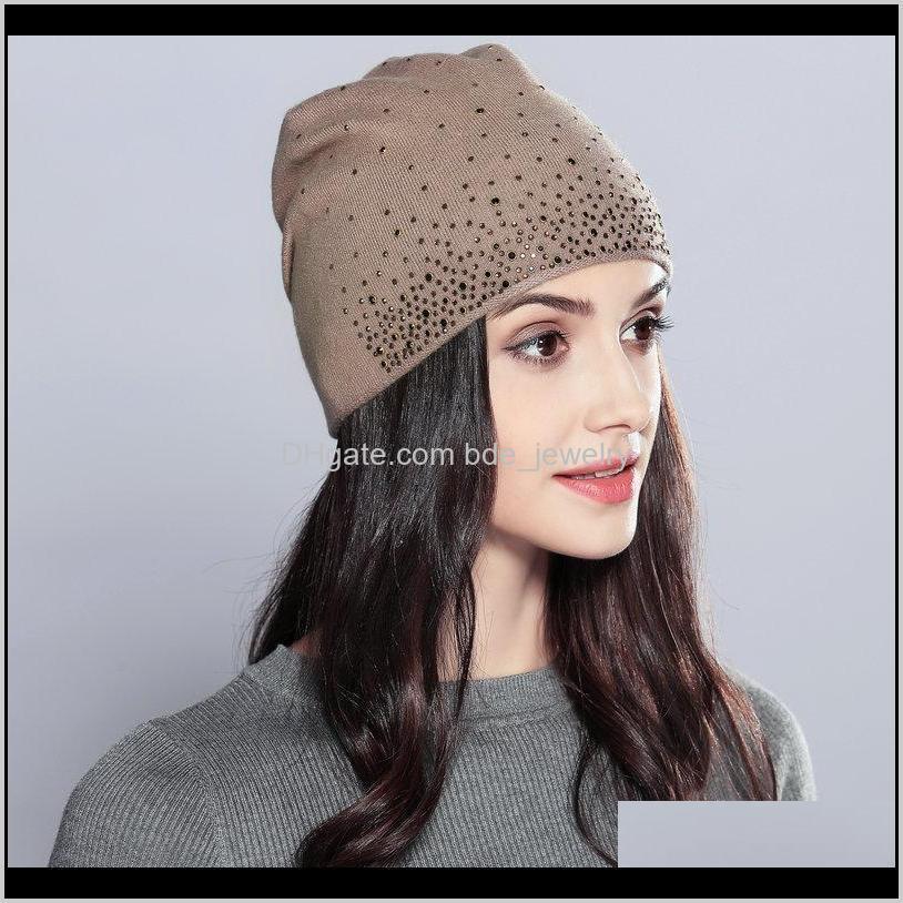 fashion lady knitted woolen hat femal cap female hood knitting warm hats knitting hats for women fashion wool hat women