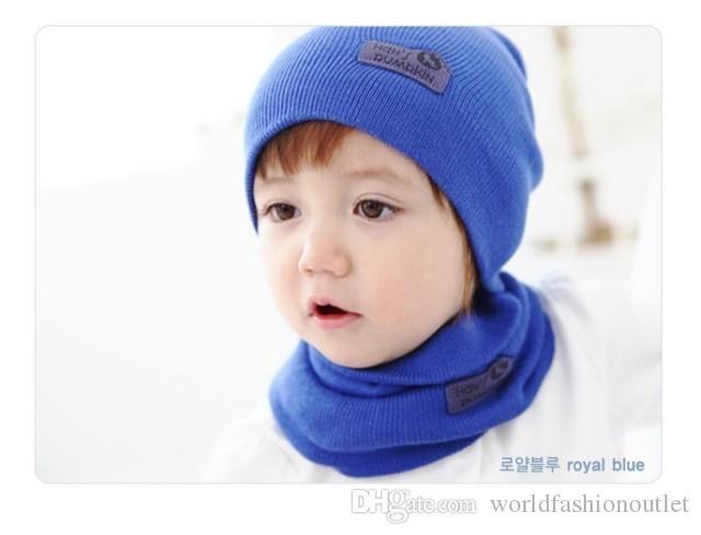 Детская шапка 6 цветов Весна Детская хеджинговая шапка + костюм из искусственной кожи Стандартный сплошной цвет Конфетного цвета Шерстяные шапки Для новичков Шапки Детская шляпа