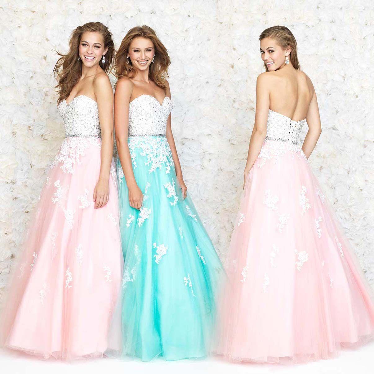 Luxury Spring 2015 Prom Dresses Illustration - All Wedding Dresses ...