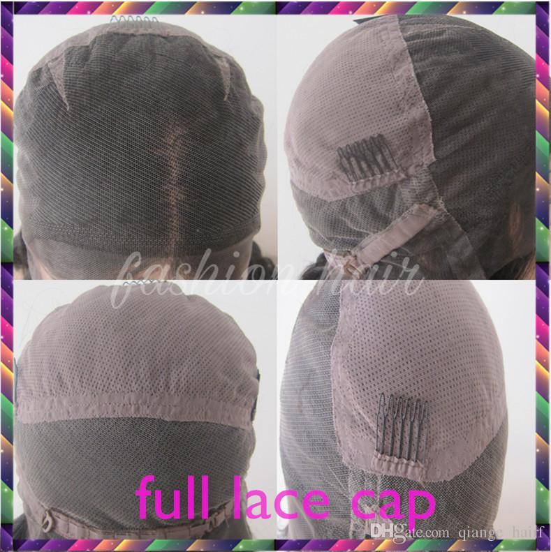 Peluca de cabello humano de encaje completo Onda ondulada onda natural Onda de cabello precortado brasileña Peluca de cabello virgen brasileño 150% de densidad frente peluca con bebé