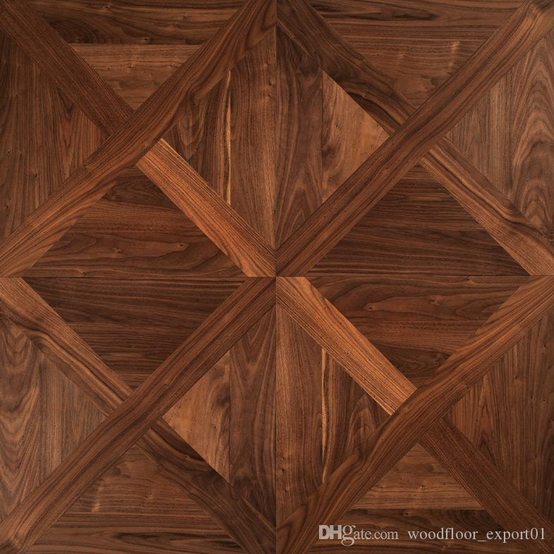 2019 Russia Oak Wood Floor Wings Wood Polygon Decorative