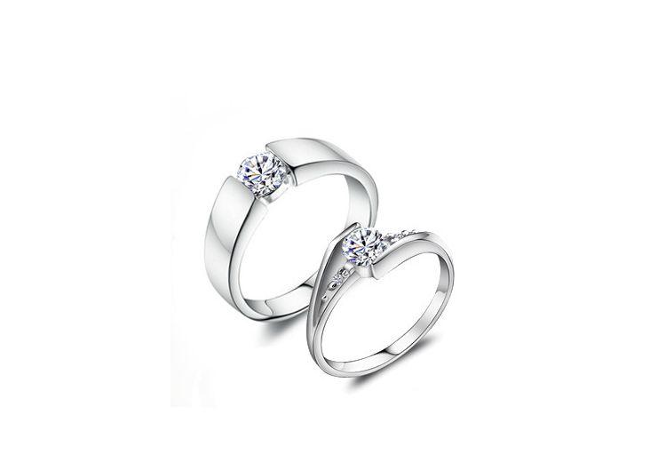 d0b9e93ba New Arrive Fashion Women/Men Platinum Plate Round Zircon Love Ring at  Various Sizes #91934 Ring Fashion Ring Love Ring Online with $4.2/Piece on  Hellokiky's ...