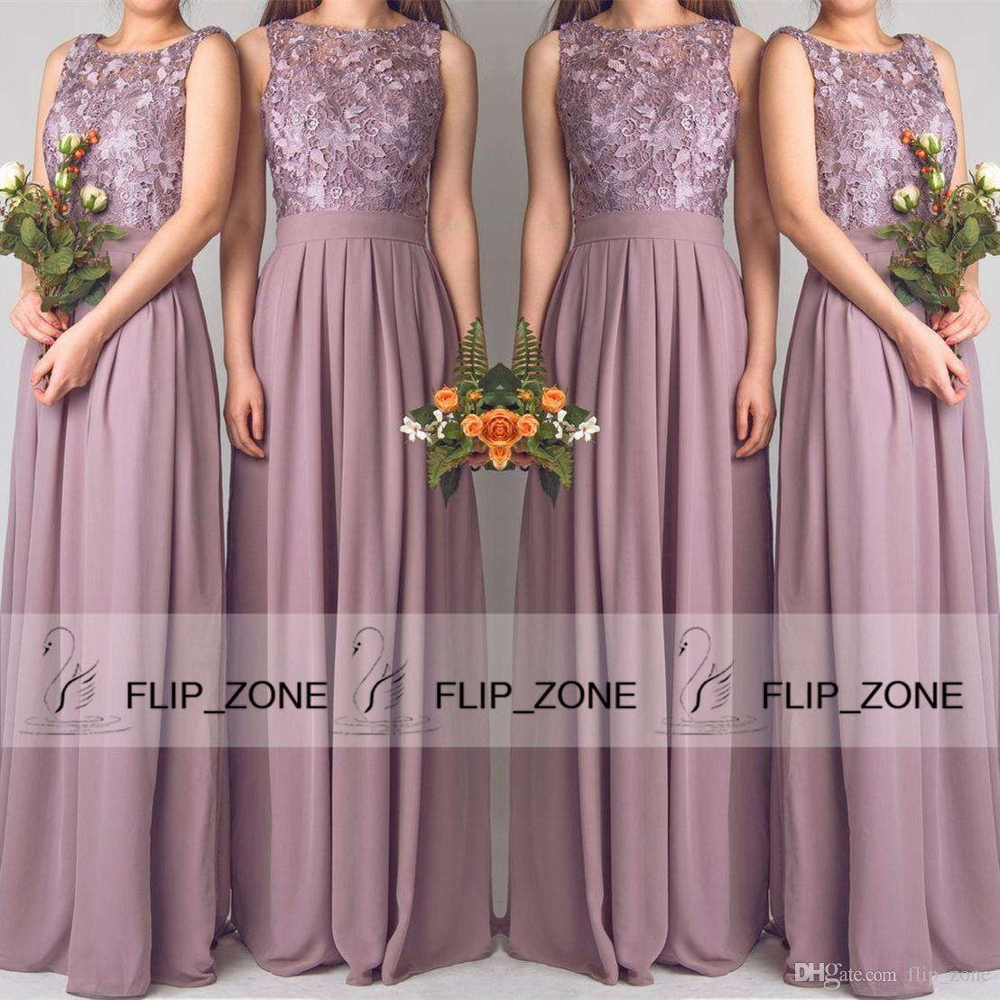 Violet Bridesmaid Dresses