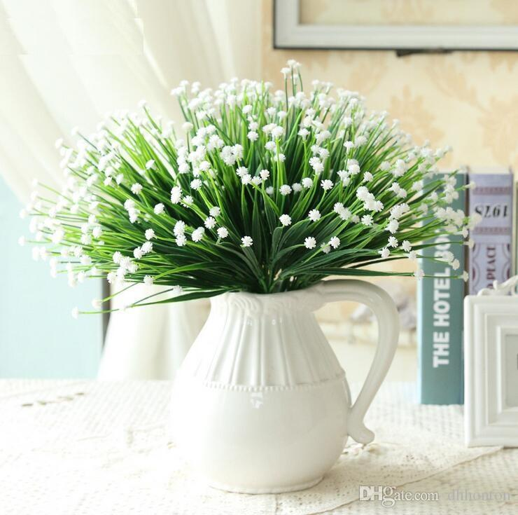 Country Style Gypsophila babysbreath Simulation flowers artificial flowers brews series desktop decoration wholesale SF1102