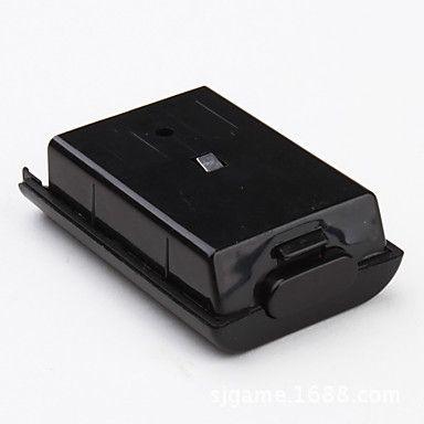 교체 배터리 팩 뒷면 커버 쉘 Xbox360 Xbox 360 하나의 무선 컨트롤러 배터리 하우스 Q1