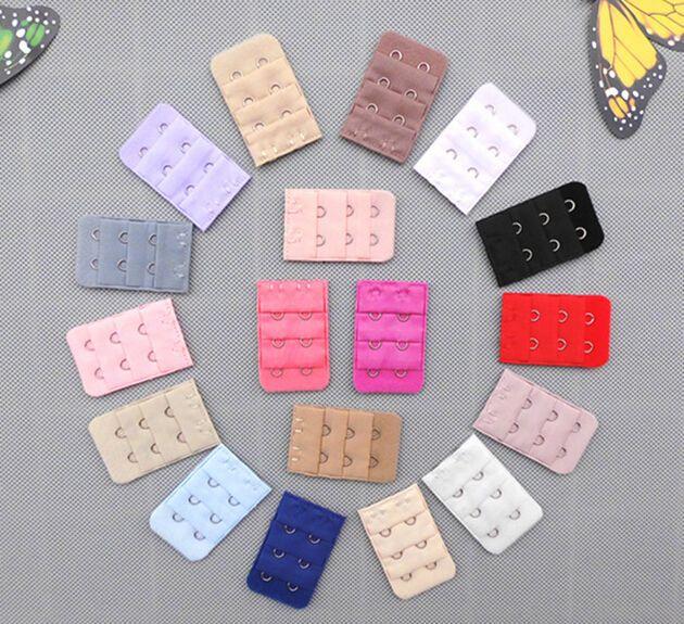女性ブラジャー3行2フックBRAエクステンダーバックバックルクラスプストラップミシン概念ツールインタイトアクセサリー