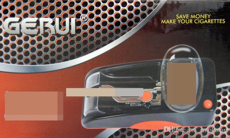 Automatic Tobacco Rolling Machine Cigarette Paper Maker Auto Cigarette DIY Maker Machine Tobacco Maker Roller Portable