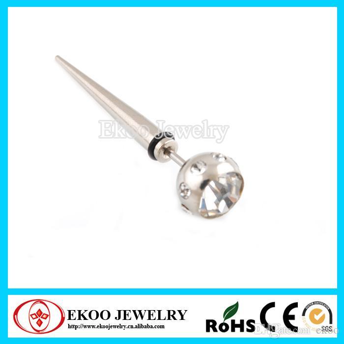 316L Steel Fake Plugs Body Piercing Jewelry lotes de 15 piezas