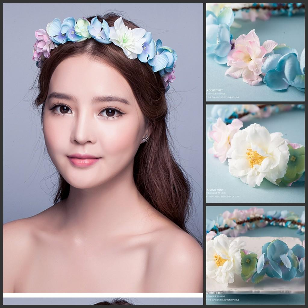 summer beach wedding supplies bohemian style bridal headbands with