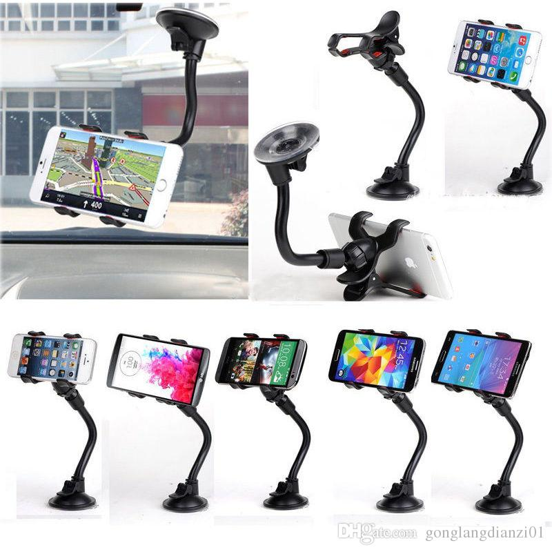Online Cheap Adjustable Car Phone Windshield Cradle Mount Stand ...