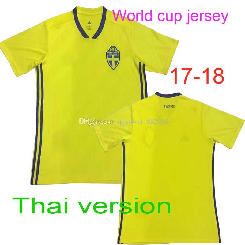 2018 Thai Edition Quality Free Delivery To The Door 2018 World Cup Competition Sweden Football Jersey Shaqiri Seferovic Xhaka From Qqxuwei1882002 ...  sc 1 st  DHgate.com & 2018 Thai Edition Quality Free Delivery To The Door 2018 World Cup ...