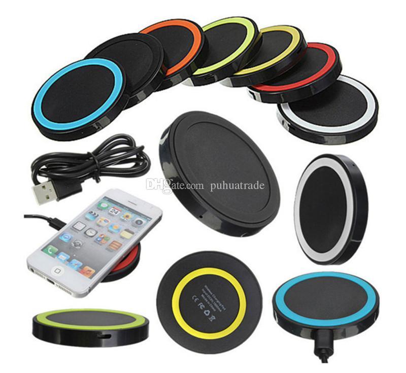 4a9c9e02e4b Cargador De Baterias Para Celular El Más Nuevo Qi Wireless Charger,  Teléfono Celular, Mini Charge Pad, Dispositivo Habilitado Con Qi Para  Samsung AppleHtc ...