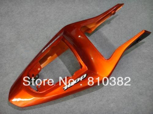 Motorradverkleidung für SUZUKI GSXR 1000 03 04 GSXR1000 GSX-R1000 K3 2003-2004 orange glänzend schwarz ABS-Verkleidung