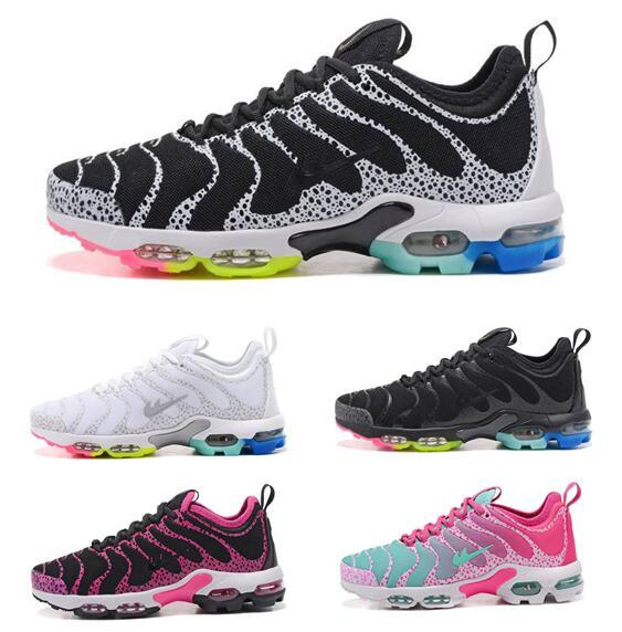 Womens Sneakers Shoes Plus Ultra Tn Women Running Shoes Black Red White Sports Trainer Air Cushion Surface Breathable Casual Shoes outlet choice big sale Cheapest sale online sale cheapest price sale lowest price dOwAEa1h