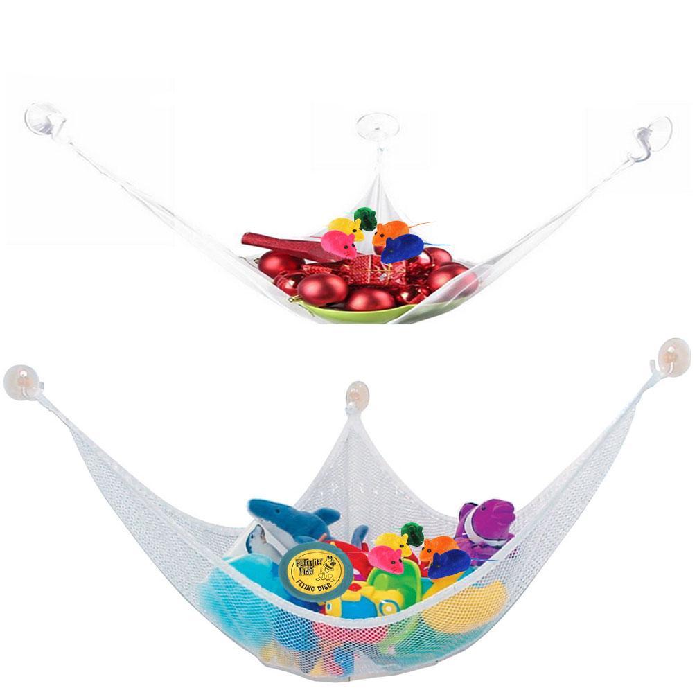 おもちゃのハンモックのぬいぐるみの動物のハンモックのおもちゃの収納ペットのぬいぐるみネットハンモック苗床の三角網